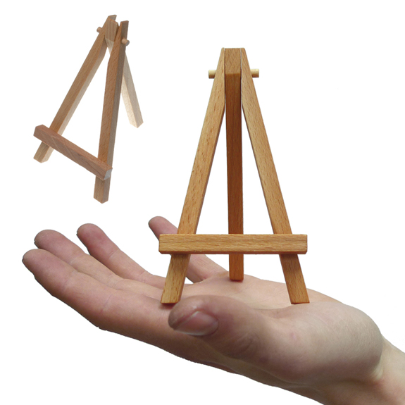 DIY Plans How To Make A Mini Wooden Easel PDF Download