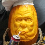Gettin' a little thirsty...... (3D Pumpkin Carving by Brandy Davis)