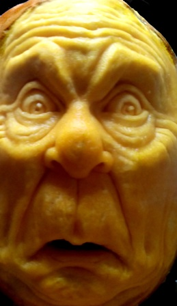Crazy face pumpkin by Brandy Davis(R)